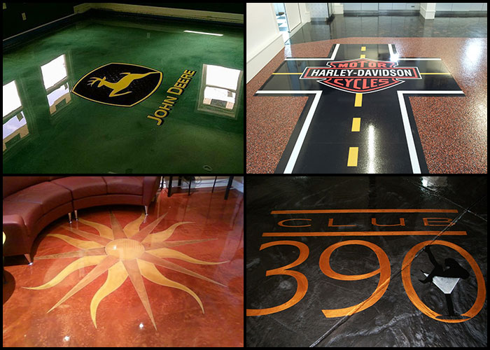 Floor Logos And Decals